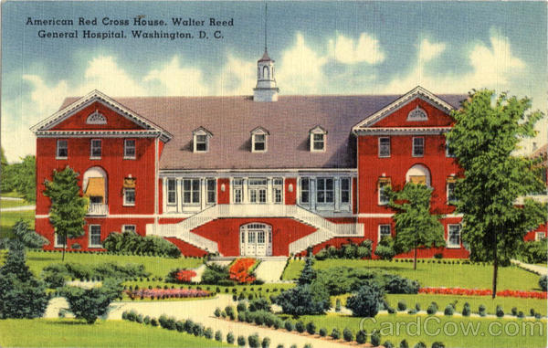 American Red Cross House, Walter Reed General Hospital Washington District of Columbia