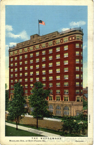 The Wedgewood Hotel, Woodlawn Ave, at Sixty Fourth St Chicago Illinois