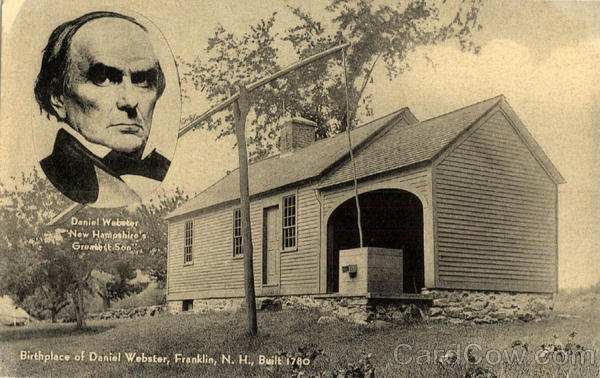 Birthplace of Daniel Webster Franklin New Hampshire