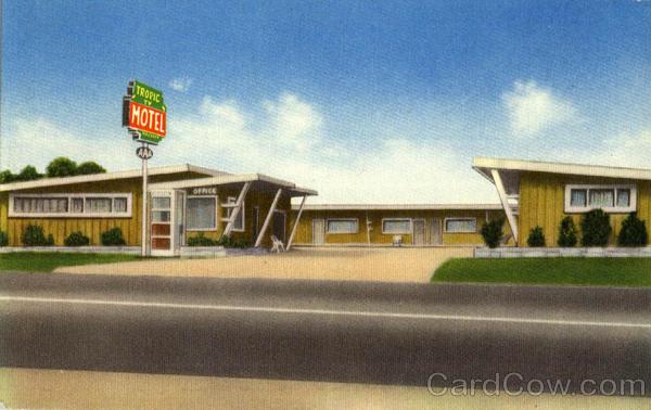 Tropic Motel Garden Grove Ca
