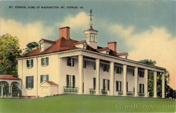 Mt. Vernon, Home of Washington Virginia