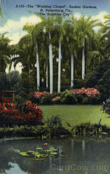 The Wedding Chapel Sunken Gardens St Petersburg Fl