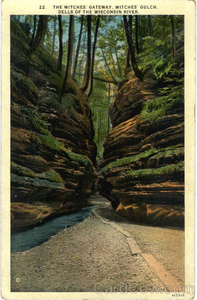 The Witches Gateway Witches Gulch Wisconsin Dells