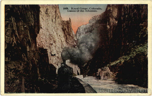 Canon of the Arkansas Royal Gorge Colorado