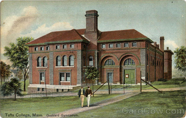 Goddard Gymnaslum Tufts College Massachusetts