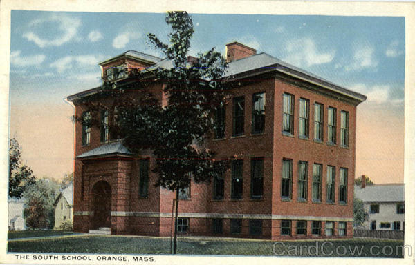 The South School Orange Massachusetts