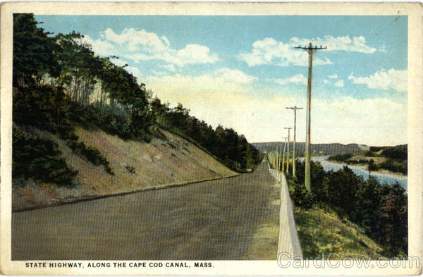 State Highway, Along the Cape Cod Canal Massachusetts