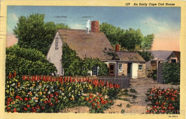 An Early Cape Cod House Massachusetts