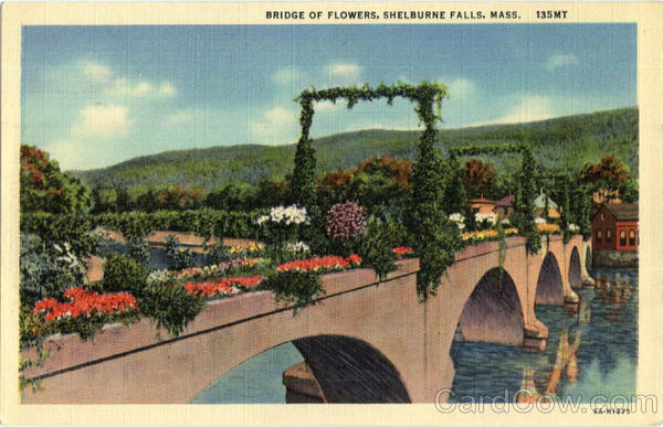 Bridge of Flowers Shelburne Falls Massachusetts