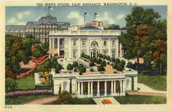 The White House, East Entrance
