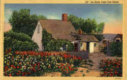 An Early Cape Cod House