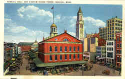 Faneuil Hall and Custom House Tower