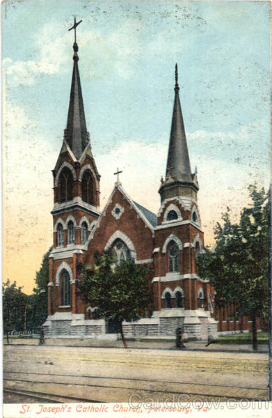 St. Joseph's Catholic Church Petersburg Virginia