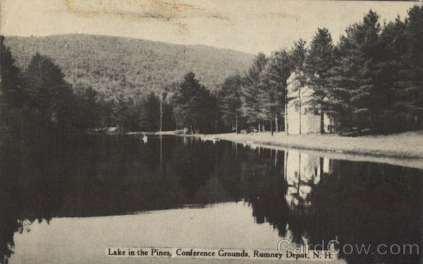 Lake In The Pines, Conference Grounds Rumney Depot New Hampshire