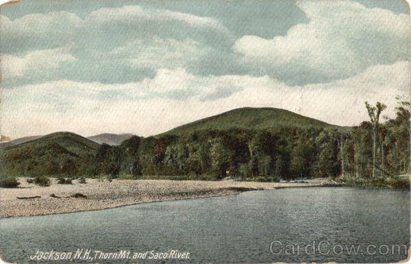 Thorn Mt. And Saco River Jackson New Hampshire