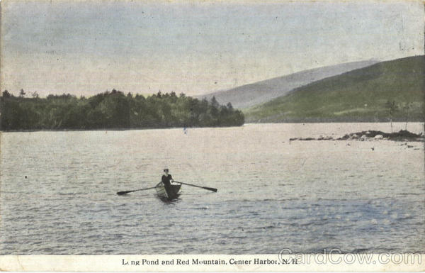 Long Pond And Red Mountain Center Harbor New Hampshire