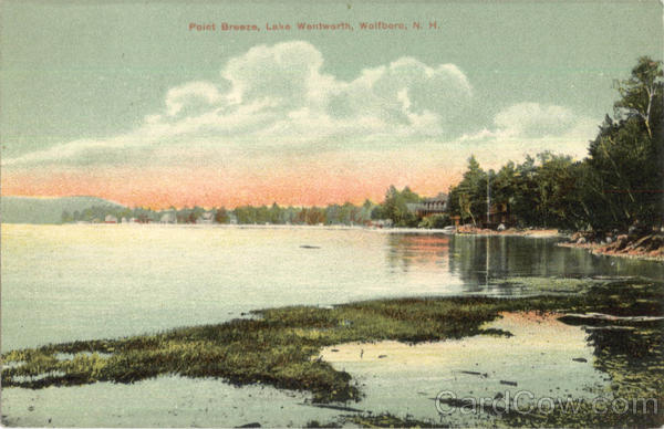 Point Breeze, Lake Wentworth Wolfboro New Hampshire