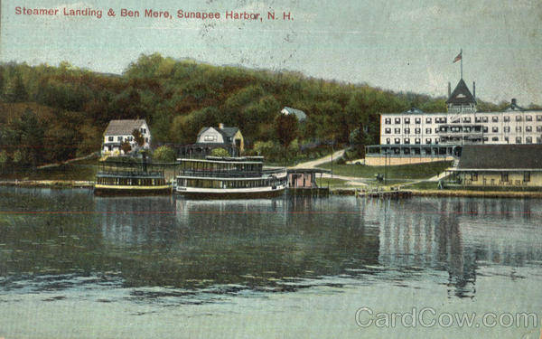 Steamer Landing & Ben Mere Sunapee Harbor New Hampshire