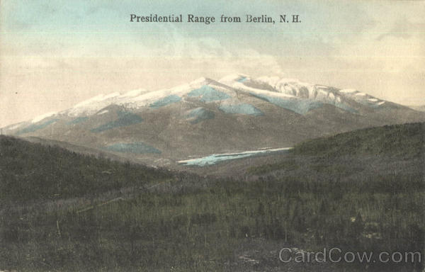 Presidential Range From Berlin New Hampshire