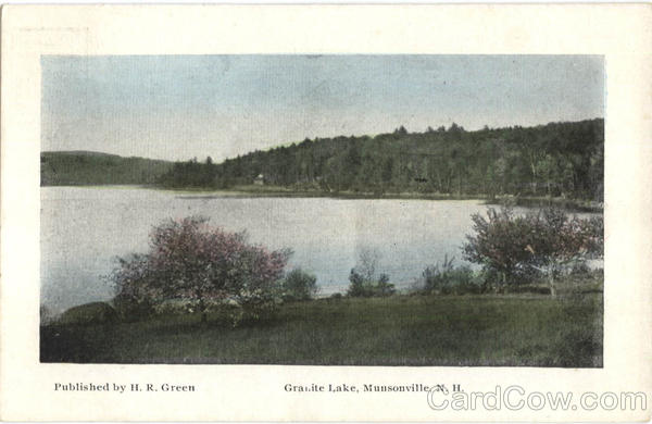 Granite Lake Munsonville New Hampshire