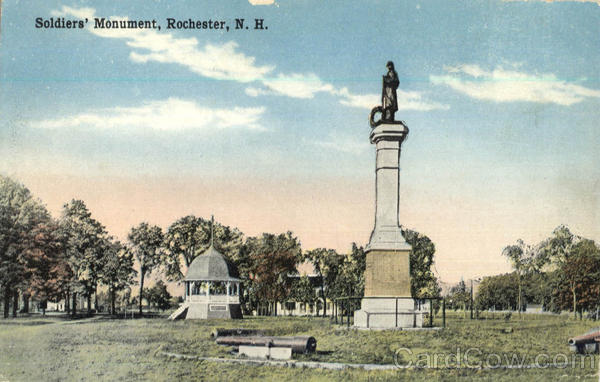 Soldiers Monument Rochester New Hampshire