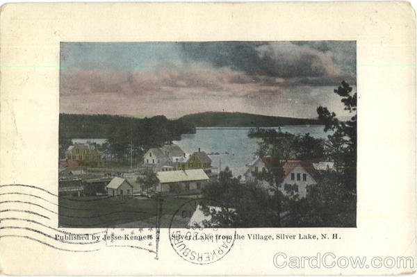 Silver Lake From The Village New Hampshire