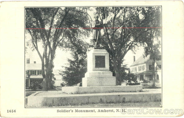 Soldier's Monument Amherst New Hampshire