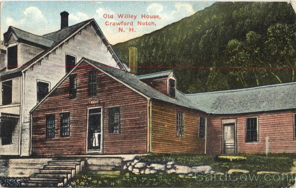 Old Willey House Crawford Notch New Hampshire