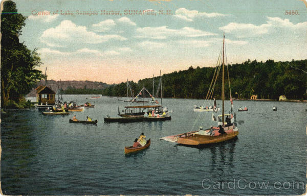 Corner Of Lake Sunapee Harbor New Hampshire