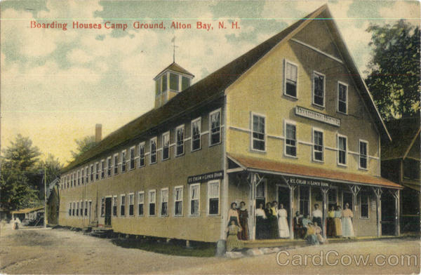 Boarding Houses Camp Ground Alton Bay New Hampshire