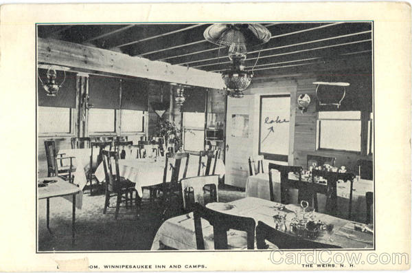 Dining Room Winnipesaukee Inn And Camps The Weirs New Hampshire