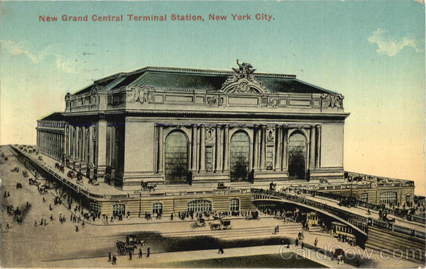 New Grand Central Terminal Station New York City