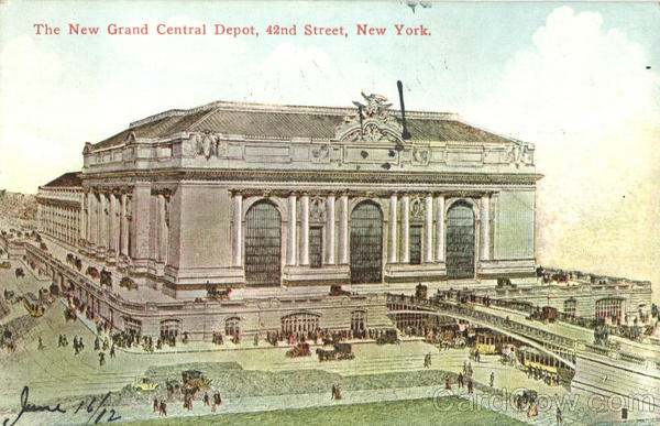 The New Grand Central Depot, 42nd Street New York City