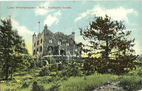 Kimball's Castle Lake Winnepesaukee New Hampshire