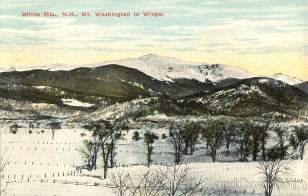 Mt. Washington In Winter White Mts New Hampshire