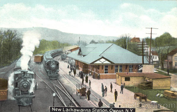 New Lackawanna Station Owego New York