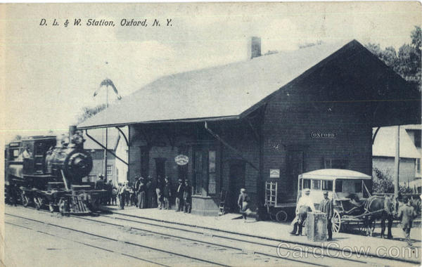 D. L. & W. Station Oxford New York