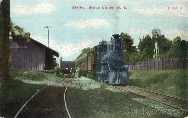 Railroad Station Sodus Center New York Depots