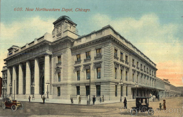 New Northwestern Depot Chicago Illinois