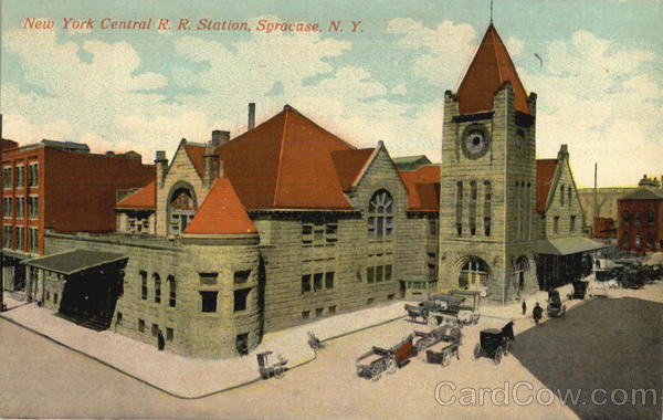 New York Central R. R. Station Syracuse