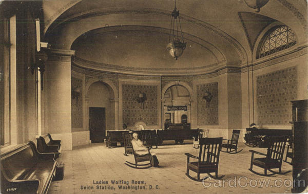 Ladies Waiting Room Union Station Washington District of Columbia