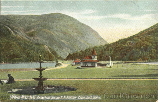 Crawford House R. R. Station, Crawford Notch White Mts New Hampshire