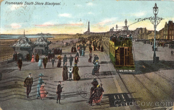 Promenade South Shore Blackpool England Lancashire
