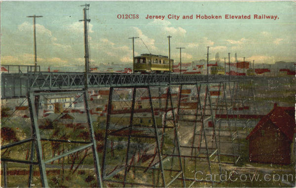 Jersey City And Hoboken Elevated Railway New Jersey