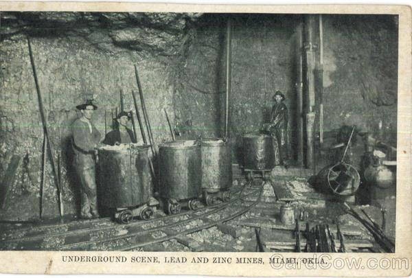 Lead and ZInc Mining View, Webb City, Missouri