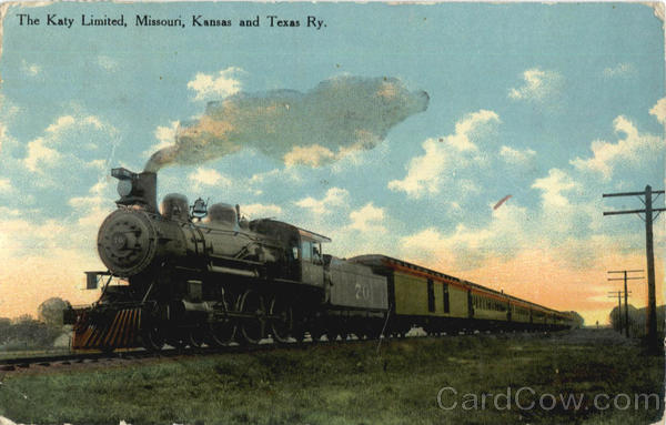 The Katy Limited Missouri Kansas And Texas Trains, Railroad
