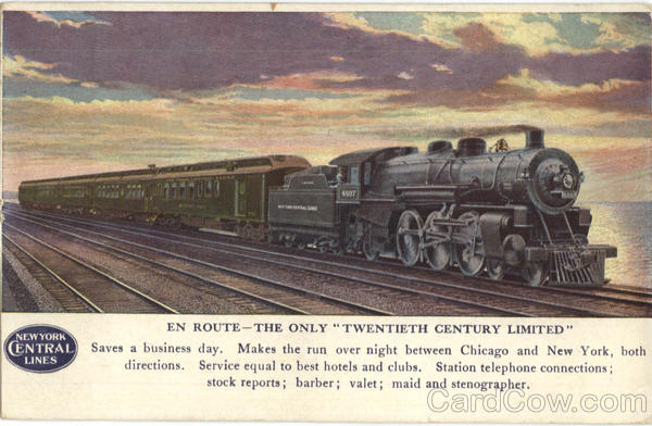 New York Central Lines Trains, Railroad