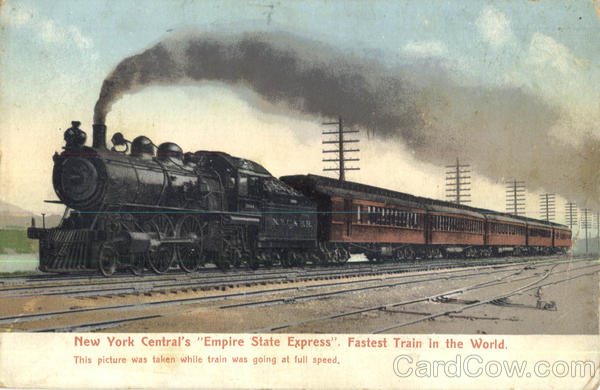 New York Central's Empire State Express Trains, Railroad