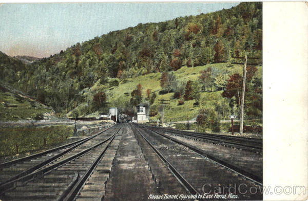 Hoosac Tunnel Approach To East Portal Massachusetts