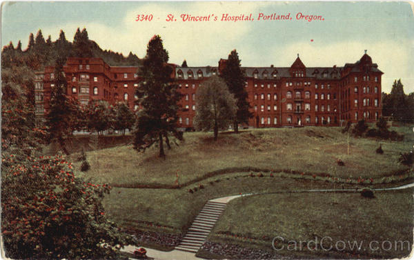 St Vincent's Hospital Portland Oregon